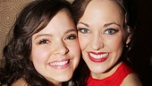 <i>Bonnie & Clyde</i> opening night – Kelsey Fowler – Laura Osnes