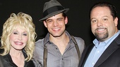 Dolly Parton at Bonnie & Clyde - Dolly Parton – Jeremy Jordan – Danny Nozell