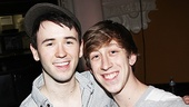 Newsies- Garett Hawe and Ryan Breslin