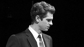 Andrew Garfield as Biff Loman in Death of a Salesman.