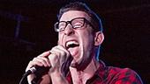 Nick Blaemire Hustle Album Release Party – Nick Blaemire onstage