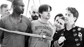 Peter and the Starcatcher Rehearsal – Christian Borle – The Boys Tied Up