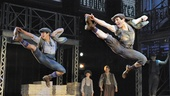 Show Photos - Newsies - Aaron Albano - Jess LeProtto