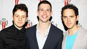 Lortel Reception -Chris Perfetti - Stephen Karam- Santino Fontana.