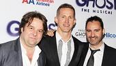 Ghost Opening Night – Christopher Nightingale – Hugh Vanstone – Paul Kieve