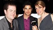 Audience Choice Awards- Paul Wontorek- Darren Criss- Susan Blackwell