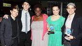 Audience Choice Awards- Andrew Keenan-Bolger- Ben Fankhauser- Capathia Jenkins- Kara Lindsay- Jeremy Jordan