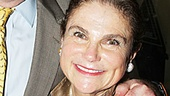 Four-time Tony nominee Tovah Feldshuh is thrilled to attend Harvey with her husband Andrew Levy.