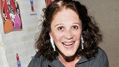 The one and only Linda Lavin brings her own adorable dog, Mickey, out to play.