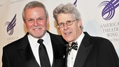 Check out the silver foxes: Tony nominee Ron Raines and former Wing chairman Ted Chapin, who received a special tribute for his exemplary service to the organization.