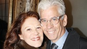 Tony Award winner Linda Lavin and husband Steve Bakunas are primed for a fun night at the theater.