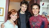 Keegan Allen at Spider-Man – Rebecca Faulkenberry - Keegan Allen - Reeve Carney