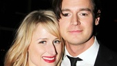 Star Benjamin Walker gets support from his beautiful wife Mamie Gummer.