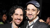 A parting shot of Lin-Manuel Miranda and musical director extraordinaire Alex Lacamoire. Congrats on an unforgettable event!
