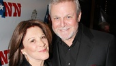 Linda Lavin and Ron Raines reunite on the red carpet. The two previously worked on Follies together in D.C. and the hilarious film Wanderlust.