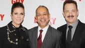 'Lucky Guy' Opening — Rita Wilson — George C. Wolfe — Tom Hanks