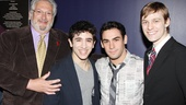 2013 Audience Choice Awards- Harvey Fierstein- Jess LeProtto- Tommy Bracco- Brendon Stimson