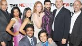 Bunty Berman Presents – Opening Night – company
