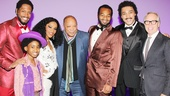 Quincy Jones at 'Motown' — Bryan Terrell Clark — Raymond Luke Jr — Valisia LeKae — Quincy Jones — Brandon Victor Dixon — Charl Brown — Tommy Hilfiger