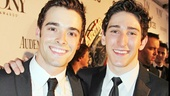 Handsome Newsies stars Corey Cott and Ben Fankhauser are driving crowds wild from Harlem to Delancey.