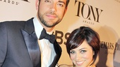 Tony Red Carpet- Zachary Levi - Krysta Rodriguez