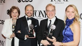2013 Tony Awards Winner's Circle – Fran Weissler – Barry Weissler – Howard Kagan – Janet Kagan