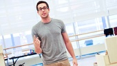 'First Date' Rehearsal — Zachary Levi