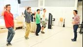 'First Date' Rehearsal — Kevin Kern — Eric Ankrim — Kristoffer Cusick — Bryce Ryness — Josh Rhodes