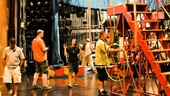 Pippin – Backstage Photos – crew big top