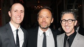 Cabaret reunion! Tony winners John Benjamin Hickey (c.) and Alan Cumming (r.) share a snapshot with Cumming's husband Grant Shaffer (l.).