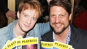 Pippin stars Matthew James Thomas and Christopher Sieber (filling in for Terrence Mann while he's on vacation) display their Broadway cred.