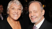 'The Glass Menagerie' Opening — Tyne Daly — Jeffrey Richards