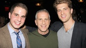 Wicked producer Marc Platt celebrates with his sons, Book of Mormon star Ben Platt and Jonah Platt.