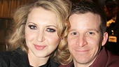Nina Arianda with her friend Brad Fleischer