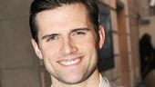 Pippin's new headliner Kyle Dean Massey stops by on opening night.