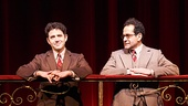 Santino Fontana as Moss Hart & Tony Shalhoub as George S. Kaufman in Act One