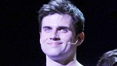 Kyle Dean Massey takes his first official Broadway bow as the title prince in Pippin.