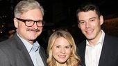 Tony nominee John Ellison Conlee, his wife, two-time Tony nominee Celia Keenan-Bolger and her former Glass Menagerie co-star Brian J. Smith.