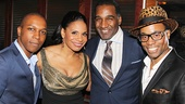 Broadway favorites Leslie Odom Jr., Norm Lewis and Billy Porter rally around Lady Day star Audra McDonald.