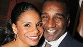 Audra McDonald and former Porgy and Bess co-star Norm Lewis.