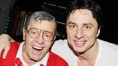 Bullets Over Broadway - Backstage - OP - 6/14 - Jerry Lewis - Zach Braff