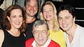 Bullets Over Broadway - Backstage - OP - 6/14 - Jerry Lewis - Nick Cordero - Karen Ziemba - Jim Borstelmann - Marin Mazzie - Zach Braff - Vincent Pastore