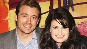 If/Then stars James Snyder (Josh) & Idina Menzel (Elizabeth) take a sweet snapshot.