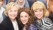 Beautiful - Backstage - Op - 7/14 - Hillary Clinton - cast
