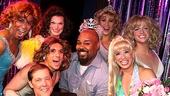 Pageant the Musical – James Monroe Iglehart Visits – OP - 4/14 – cast – James Monroe Iglehart
