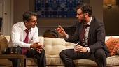 Hari Dhillon as Amir Kapoor & Josh Radnor as Isaac in Disgraced