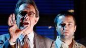 Larry Pine as Raymond Chandler & Vincent Kartheiser as Billy Wilder in Billy & Ray