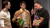 Stephen Plunkett as Sebbie, David McElwee as Blaise & Robert Cuccioli as Rocco Lazarra in Snow Orchid