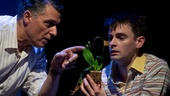Robert Cuccioli as Rocco Lazarra & David McElwee as Blaise in Snow Orchid