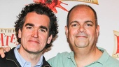 Something Rotten - Meet the Press - 2/15 -Brian d'Arcy James - Brad Oscar